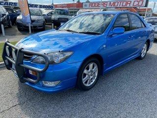 2006 Toyota Camry MCV36R 06 Upgrade Azura Blue 4 Speed Automatic Sedan.