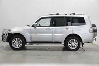 2017 Mitsubishi Pajero NX MY18 Exceed Silver 5 Speed Sports Automatic Wagon.
