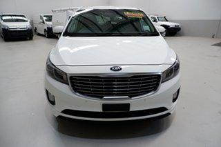 2017 Kia Carnival YP MY17 SLi White 6 Speed Sports Automatic Wagon.