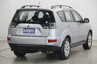 2010 Mitsubishi Outlander ZH MY10 LS Cool Silver 6 Speed Constant Variable Wagon