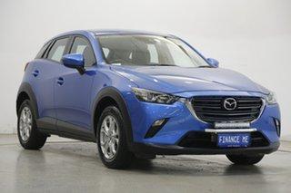 2018 Mazda CX-3 DK2W7A Maxx SKYACTIV-Drive Blue 6 Speed Sports Automatic Wagon.