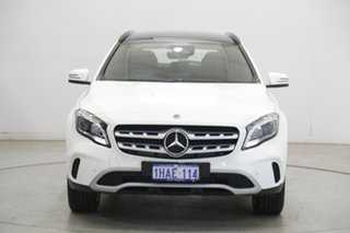 2019 Mercedes-Benz GLA-Class GLA180 DCT White 7 Speed Sports Automatic Dual Clutch Wagon.