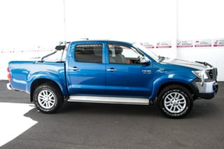 2012 Toyota Hilux GGN25R MY12 SR5 (4x4) Tidal Blue 5 Speed Automatic Dual Cab Pick-up