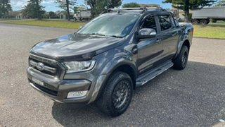 2018 Ford Ranger PX MkII 2018.00MY Wildtrak Double Cab Magnetic 6 Speed Sports Automatic Utility.