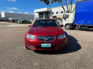 2011 Holden Commodore EQUIPE VE II MY12 Red Automatic Sedan