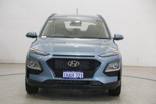 2020 Hyundai Kona OS.3 MY20 Active 2WD Ceramic Blue 6 Speed Sports Automatic Wagon.