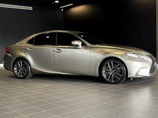 2013 Lexus IS GSE31R IS350 F Sport Silver 8 Speed Sports Automatic Sedan.