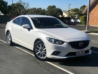 2013 Mazda 6 GJ1031 Sport SKYACTIV-Drive White 6 Speed Sports Automatic Sedan.