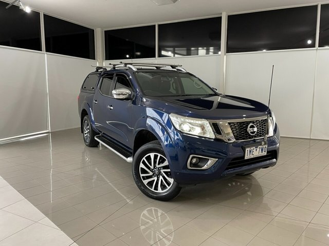 Used Nissan Navara D23 S2 ST-X King Cab Deer Park, 2017 Nissan Navara D23 S2 ST-X King Cab Blue 7 Speed Sports Automatic Utility