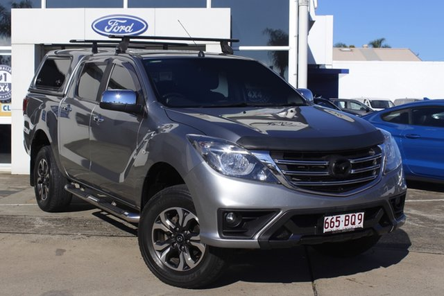 Used Mazda BT-50 UR0YG1 XTR Beaudesert, 2018 Mazda BT-50 UR0YG1 XTR Silver 6 Speed Manual Utility
