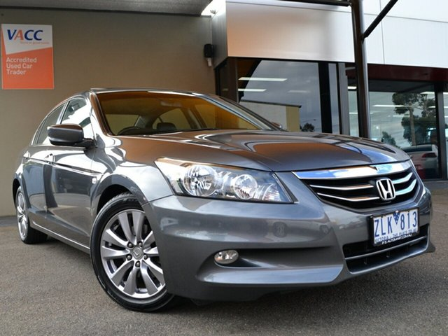 Used Honda Accord 8th Gen MY12 Limited Edition Fawkner, 2012 Honda Accord 8th Gen MY12 Limited Edition Grey 5 Speed Sports Automatic Sedan