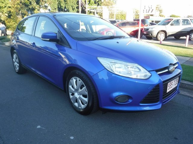 Used Ford Focus LW MkII Ambiente Margate, 2013 Ford Focus LW MkII Ambiente Blue 5 Speed Automatic Hatchback
