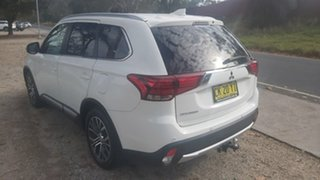 2017 Mitsubishi Outlander ZK MY17 LS 4WD Safety Pack White 6 Speed Constant Variable Wagon