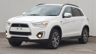2016 Mitsubishi ASX XC MY17 LS 2WD White 6 Speed Constant Variable Wagon.