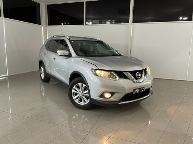 Used Nissan X-Trail T32 ST-L X-tronic 2WD Deer Park, 2016 Nissan X-Trail T32 ST-L X-tronic 2WD Silver, Chrome 7 Speed Constant Variable Wagon
