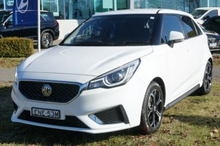 2020 MG MG3 SZP1 MY20 Excite White 4 Speed Automatic Hatchback