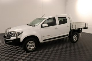 2016 Holden Colorado RG MY17 LS Crew Cab White 6 speed Automatic Cab Chassis