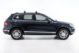 2015 Volkswagen Touareg 7P MY16 150TDI Tiptronic 4MOTION Element Blue 8 Speed Sports Automatic Wagon