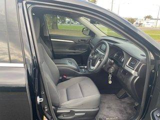 2016 Toyota Kluger GSU50R GX 2WD Black 6 Speed Sports Automatic Wagon