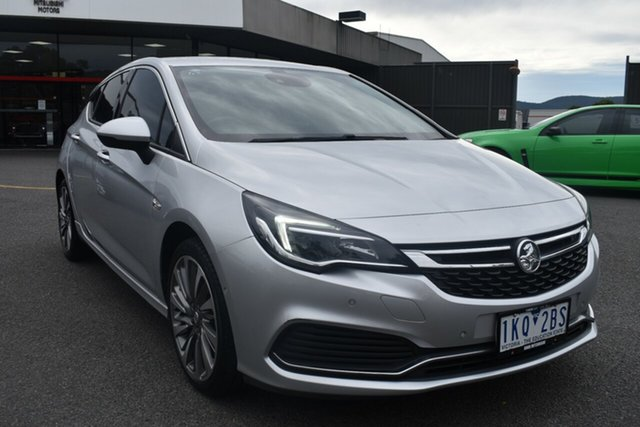 Used Holden Astra BK MY18 RS-V Wantirna South, 2017 Holden Astra BK MY18 RS-V Billet Silver 6 Speed Manual Hatchback