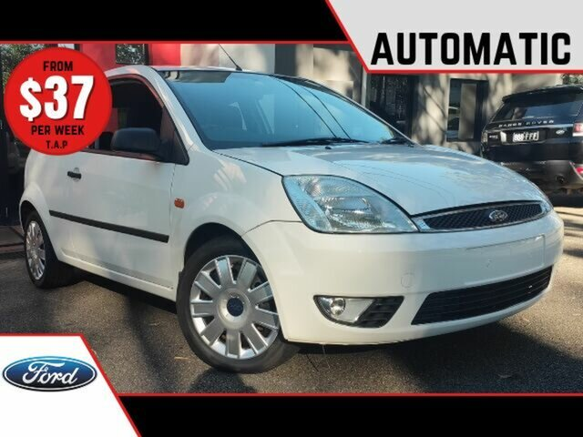 Used Ford Fiesta WP LX Ashmore, 2004 Ford Fiesta WP LX White 4 Speed Automatic Hatchback