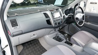 2005 Toyota Hilux GGN25R MY05 SR White 5 Speed Automatic Utility