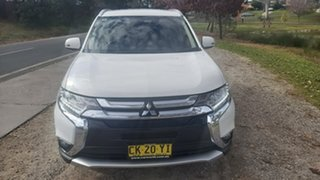 2017 Mitsubishi Outlander ZK MY17 LS 4WD Safety Pack White 6 Speed Constant Variable Wagon.