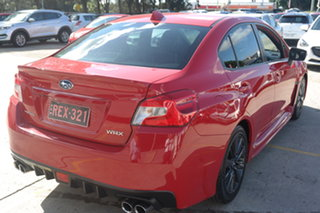2014 Subaru WRX V1 MY15 Premium AWD Red 6 Speed Manual Sedan