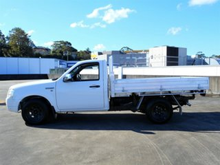 2006 Ford Ranger PJ XL White 5 Speed Manual Cab Chassis