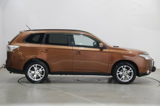 2013 Mitsubishi Outlander ZJ MY14 LS 4WD Orange 6 Speed Sports Automatic Wagon