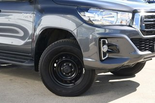 2018 Toyota Hilux GUN126R SR Double Cab Grey 6 Speed Sports Automatic Cab Chassis