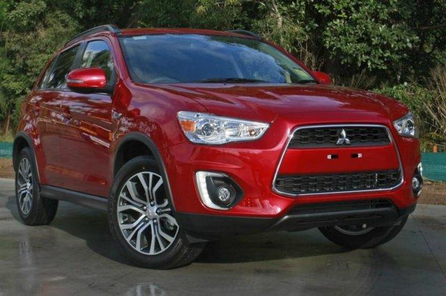 Used Mitsubishi ASX XB MY15.5 LS 2WD Hillcrest, 2016 Mitsubishi ASX XB MY15.5 LS 2WD Red 6 Speed Constant Variable Wagon