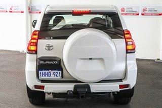 2020 Toyota Landcruiser Prado GDJ150R GX Crystal Pearl 6 Speed Sports Automatic Wagon