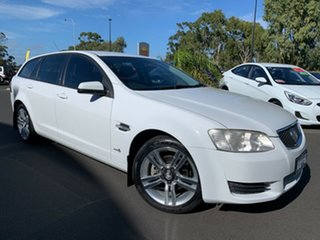 2010 Holden Commodore VE MY10 Omega Sportwagon White 6 Speed Sports Automatic Wagon.