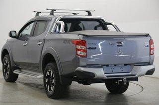 2018 Mitsubishi Triton MQ MY18 Exceed Double Cab Grey 5 Speed Sports Automatic Utility
