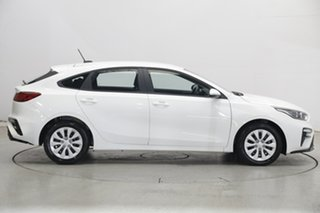 2020 Kia Cerato BD MY21 S Clear White 6 Speed Sports Automatic Hatchback