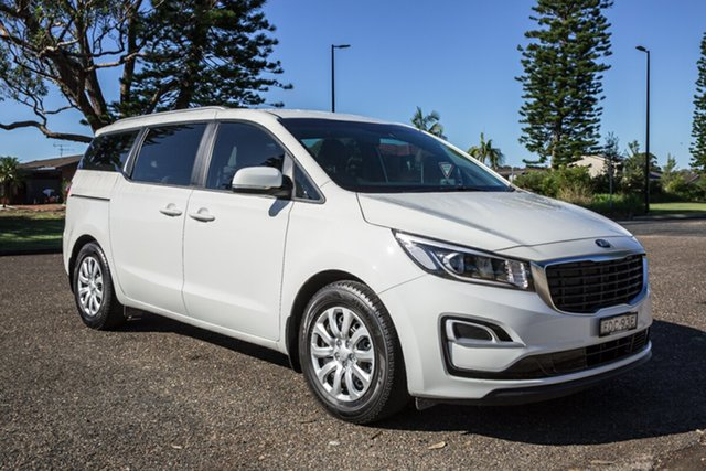 Used Kia Carnival YP MY19 S Port Macquarie, 2019 Kia Carnival YP MY19 S Clear White 8 Speed Sports Automatic Wagon