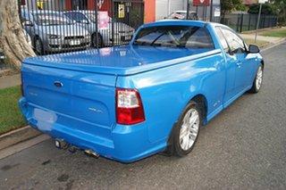 2009 Ford Falcon FG XR6 Blue 5 Speed Auto Seq Sportshift Utility.