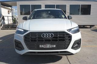 2021 Audi Q5 FY MY21 40 TDI S Tronic Quattro Ultra Launch Edition Glacier White 7 Speed.