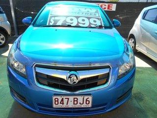 2011 Holden Cruze JH Series II MY11 CD Blue 5 Speed Manual Sedan.