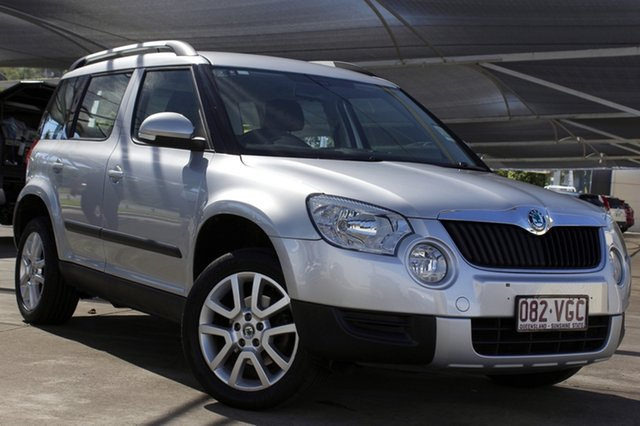 Used Skoda Yeti 5L 112TSI DSG Bundamba, 2012 Skoda Yeti 5L 112TSI DSG Silver 6 Speed Sports Automatic Dual Clutch Wagon