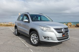 2010 Volkswagen Tiguan 5N MY10 103TDI 4MOTION Silver 6 Speed Sports Automatic Wagon