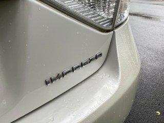 2007 Subaru Impreza G3 MY08 RX AWD Metallic White 4 Speed Sports Automatic Hatchback