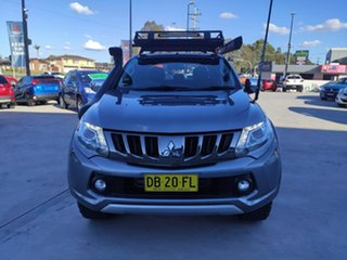 2017 Mitsubishi Triton MQ MY17 GLS Double Cab Grey 6 Speed Manual Utility