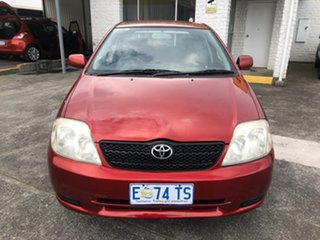 2002 Toyota Corolla ZZE122R Ascent Red 5 Speed Manual Hatchback