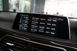 2016 BMW 7 Series G11 740i Steptronic Black 8 Speed Sports Automatic Sedan