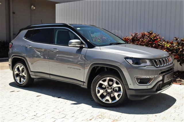 Demo Jeep Compass M6 MY20 Limited Cairns, 2020 Jeep Compass M6 MY20 Limited Grey Magnesio 9 Speed Automatic Wagon