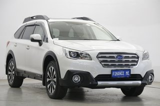 2017 Subaru Outback B6A MY17 2.5i CVT AWD Premium White 6 Speed Constant Variable Wagon