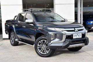 2019 Mitsubishi Triton MR MY19 GLS Double Cab Premium Grey 6 Speed Sports Automatic Utility.