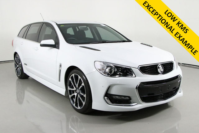 Used Holden Commodore VF II SS-V Bentley, 2015 Holden Commodore VF II SS-V White 6 Speed Automatic Sportswagon
